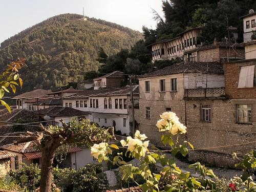 Berat, Old Town - Driving Albania 115