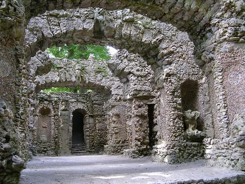 Sanspareil 'Ruinentheater'