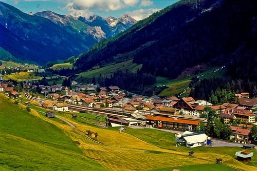 St Anton, Austria
