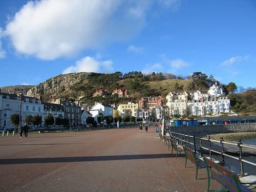 Llandudno Promenade & Great Orme Headland, North Wales Coast