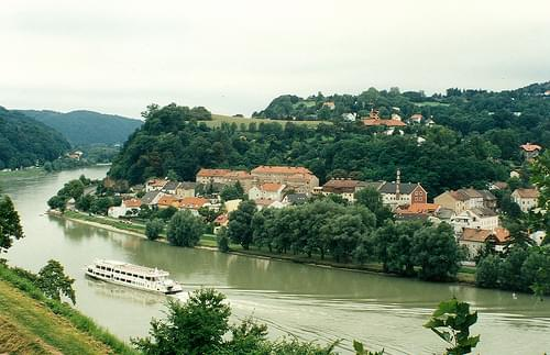 The Danube Linz Austria