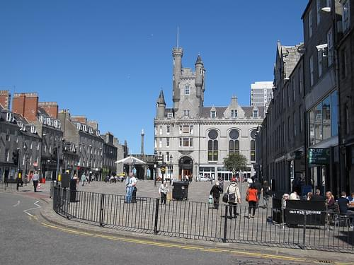 Historic Center, Aberdeen