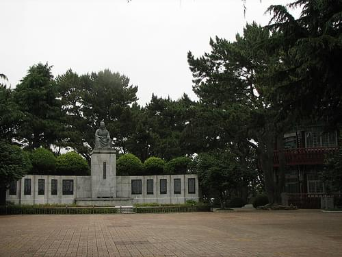 Monument to Choe Chi-Won
