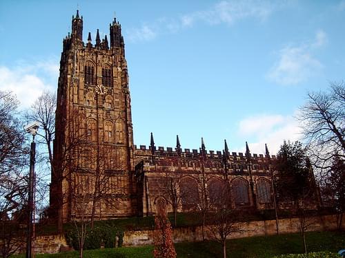 St. Giles church, Wrexham
