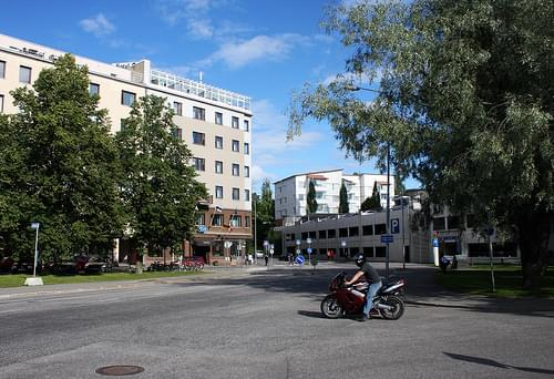 Savonlinna, Satamakatu