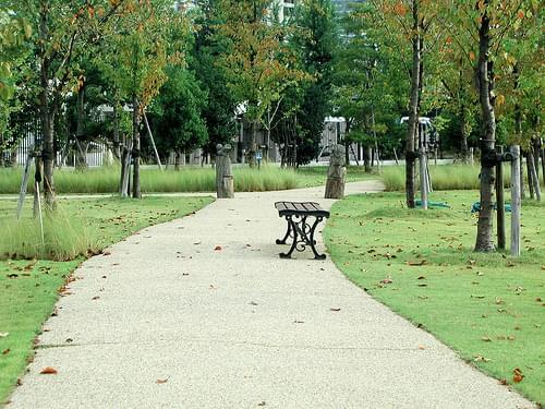 Pathway at Noritake Garden