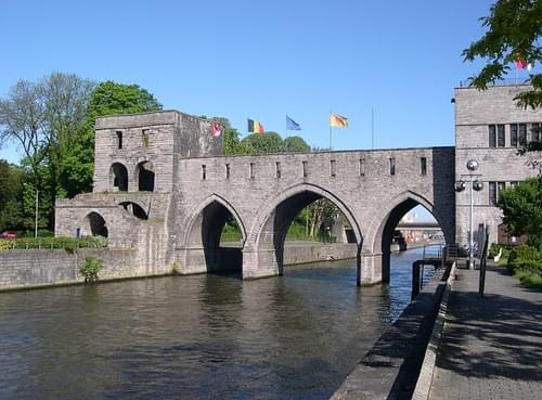 Thirteenth Century Water Bridge, Tournai