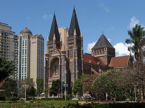 St. John's Cathedral in Brisbane