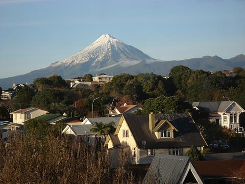 Mt Taranaki, New Plymouth, New Zealand