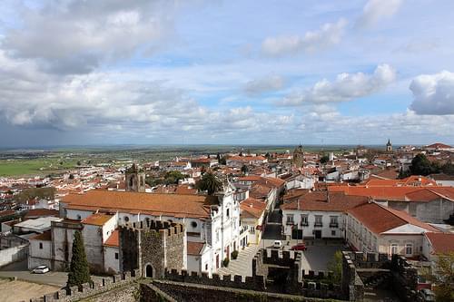 Vista desde Castelo, Beja