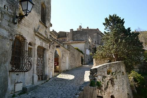Village Center, Les Baux de Provence