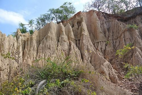 Sao Din earth pillars. Nan, Thailand. 9