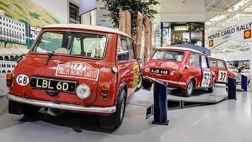 Monte Carlo Mini Coopers