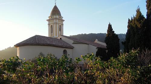 Church of Saint Michel, La Turbie, Alpes-Maritimes, France