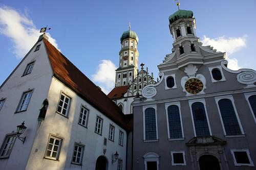 St. Ulrich's and St. Afra's Abbey, Augsburg