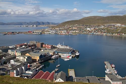 Hammerfest in Noorwegen - Hurtigruten met de MS Lofoten, aug. 2013