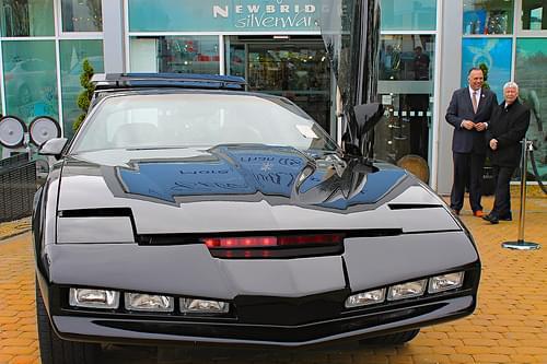 KITT Knight Rider car, Newbridge Silverware.