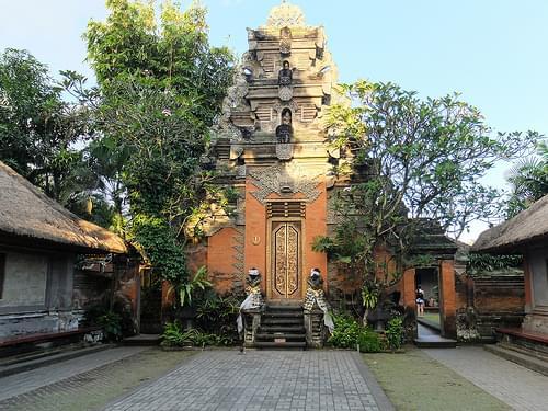 Puri Saren, Ubud's palace