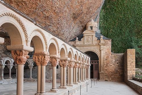 Claustro, Monasterio de San Juan de la Peña