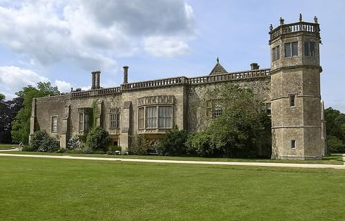 Lacock Abbey - the south front