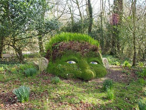 Lost Gardens of Heligan in Cornwall