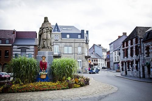 Chimay Belgium Town center 7-31-2013-IMG_7292