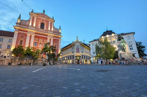 Historic Center, Ljubljana
