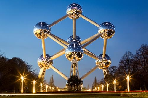Atomium by Night, Brussels