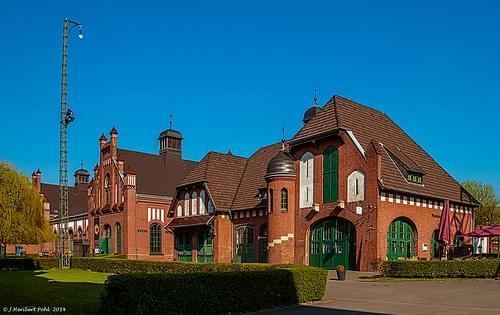 Dortmund, Industriemuseum Zeche Zollern - der ehemalige Pferdestall