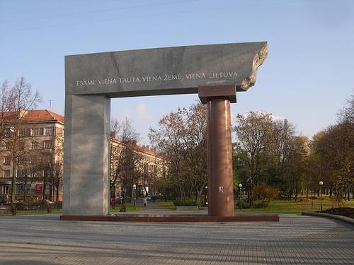 Monument to the United Lithuania, Klaipeda