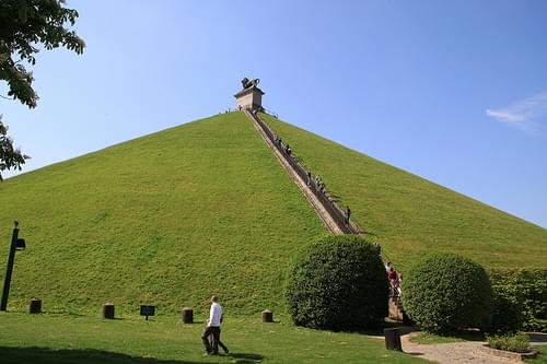 Lion's Mound at Waterloo