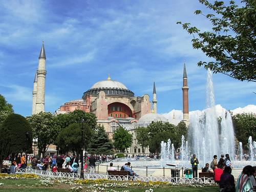 Hagia Sophia (Ayasofya) view