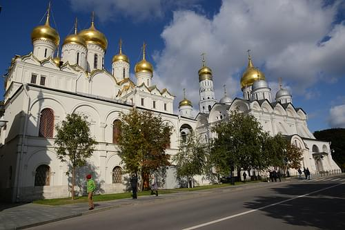 Cathedral of the Annunciation and Cathedral of the Archangel Michael