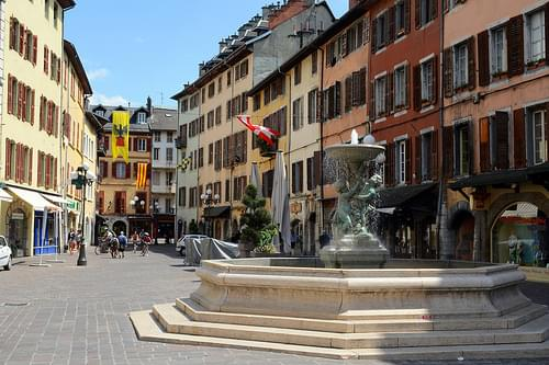 Old Town, Chambery