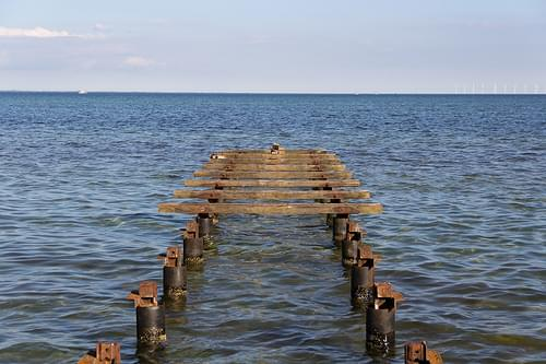 A Ruined Dock - Dragor Beach