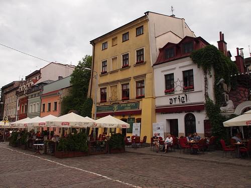 Szeroka street in Kazimierz (Kraków, Poland 2014)