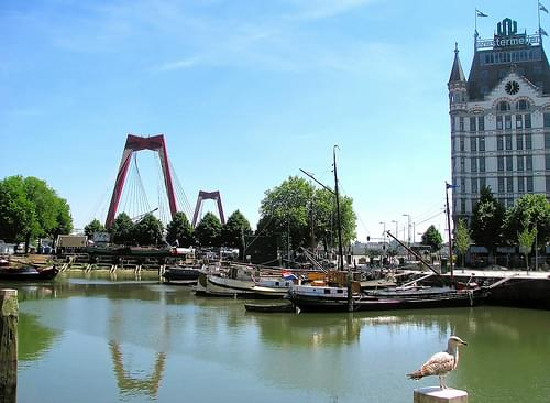 Rotterdam Blaak en Oude haven