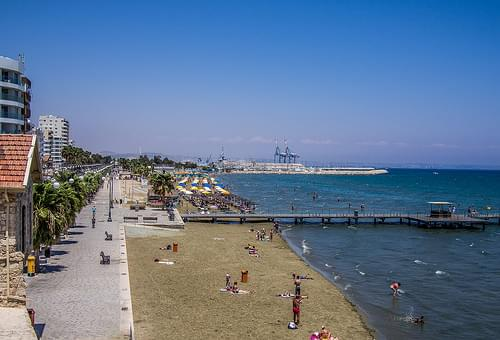 Finikoudes Beach, Larnaca