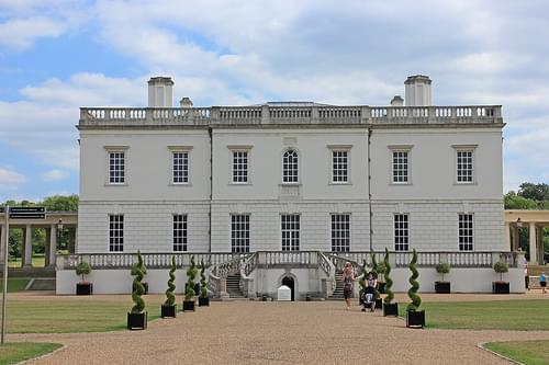 The Queen's House, North front
