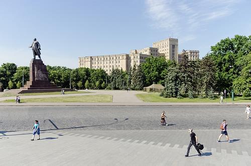 DSC_0053 Kharkiv, Freedom square