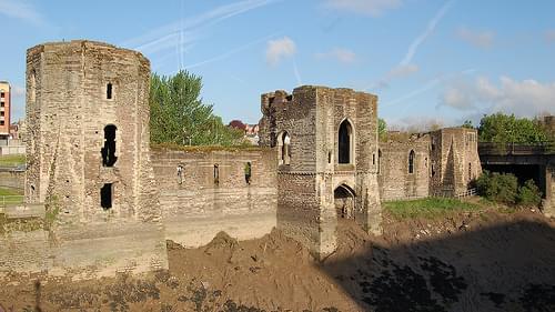 Newport castle, Pembrokeshire, Wales