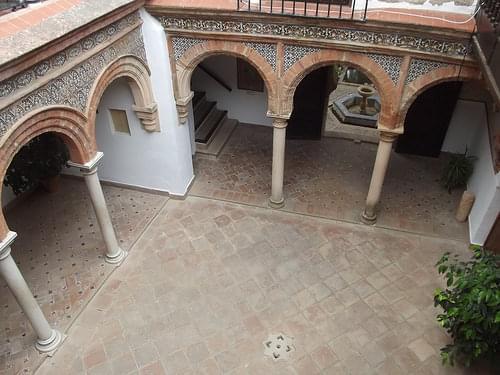 Palacio de Mondragon - Plaza Mondragón, Ronda - Mudejar patio
