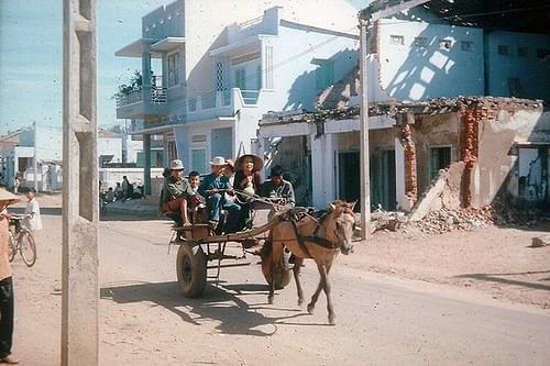 1970-71 Reliable Transportation in Phan Thiet City