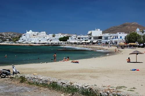 Beach, Parika, Parikia (Paros)