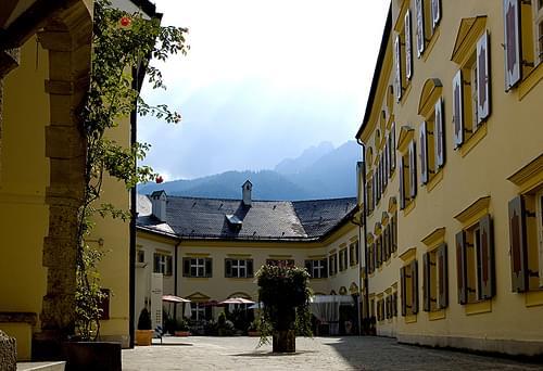 Schloss Hohenaschau - Innenhof