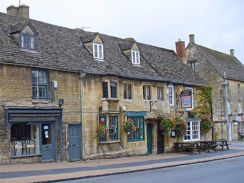 Historic Center, Burford