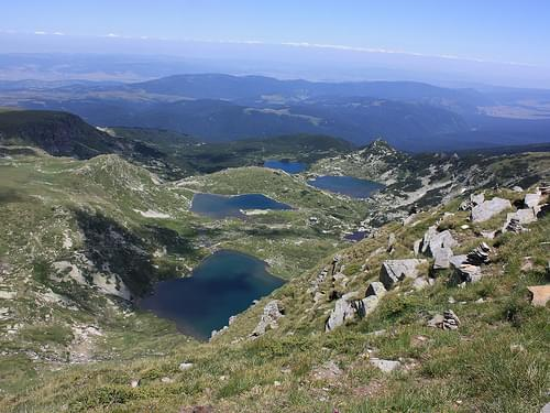 4 out of 7 Rila lakes