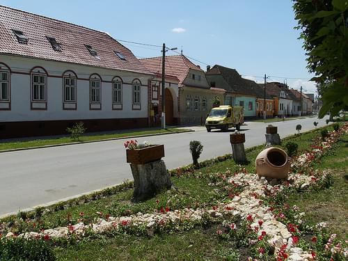 Street in Ghimbav