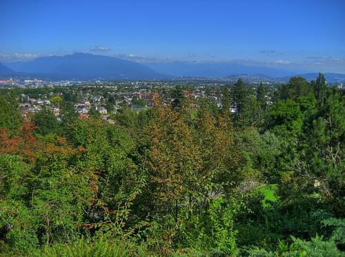 Mount Seymour from Queen Elizabeth Park Lookout
