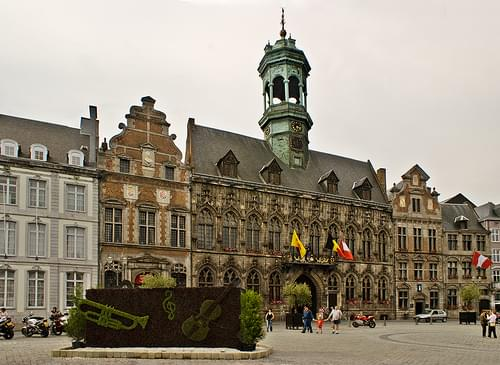 Historic Center, Mons